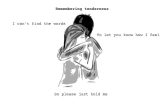Remembring tenderness 03